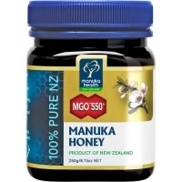 Active MGO 550+ (Old 25+) Manuka Honey 100% Pure by Manuka Health New Zealand Ltd. - 250 g
