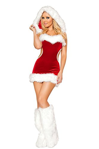 Dear-lover Women's Claus Christmas Costume