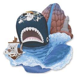 ワンピース デスクトップシアターフィギュア-SEA ANIMALS- 2:ラブーン&ゴーイング・メリー号 バンプレスト プライズ