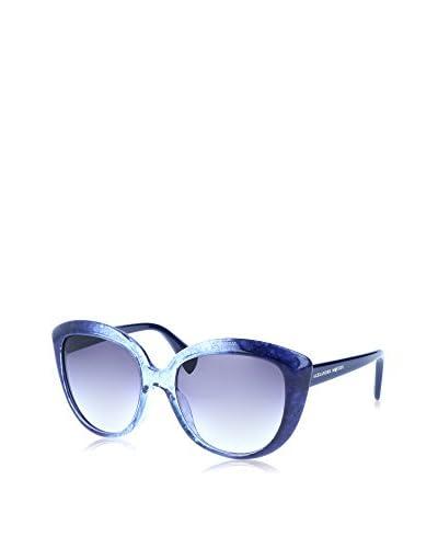 Alexander McQueen Gafas de Sol AMQ 4234/S (55 mm) Azul