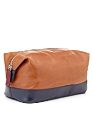 Autograph Leather Washbag
