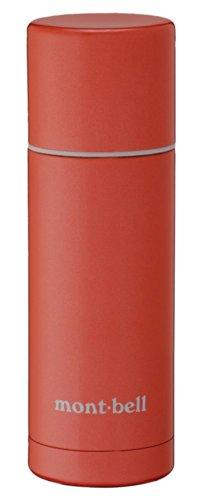 モンベル(mont-bell) ステンレスサーモボトル0.35L サンセットオレンジ SSOG 1124494