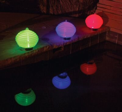 Swimming Pool Floating Color Changing Lights