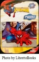 "Spider-Man Marvel 7"" X 5"" 50 piece puzzle (comes in 3"" x 4"" small tin case) - 1"