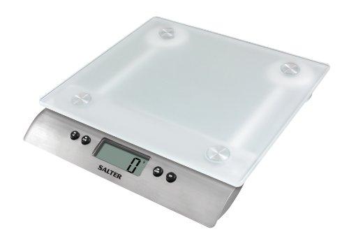 Salter 2049796 Balance de Cuisine Inox Argent 22,5 x 6 x 23 cm