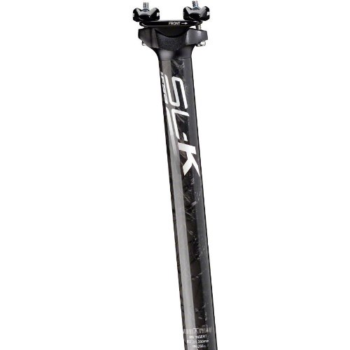 Fsa Sl-K Sbo Seatpost 27.2Mm 350Mm Black With White Decal