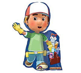 14 Inch Handy Manny & Tools Mini-Shaped Balloons