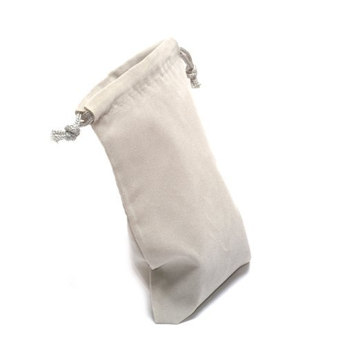 "4""X 5"" Gray Cloth Dice Bag"