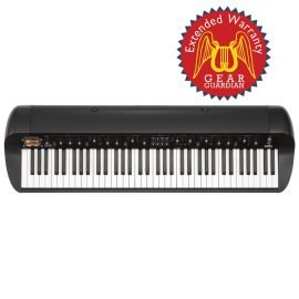 Korg Sv-1Bk Stage Vintage Piano With Gear Guardian Extended Warranty - Black