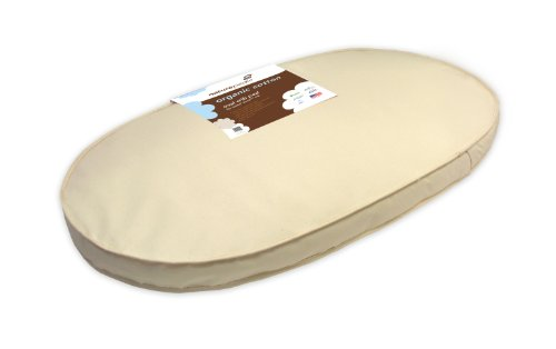 Naturepedic No Compromise Organic Cotton Oval Crib Mattress