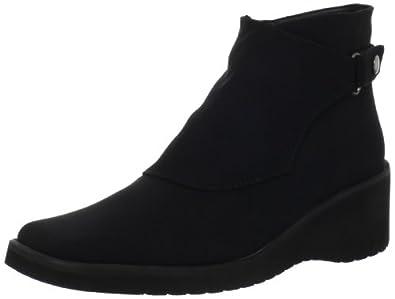 Sesto Meucci Women's Raree Ankle Boot,Black Micro Fabric,6 M US