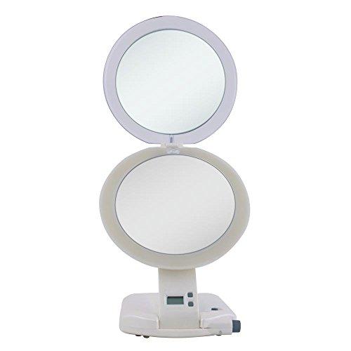 Zadro Next Generation 1X/10X Lighted Travel Mirror - Ult111