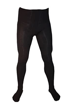 Weri Spezials Hommes Coton Collants 46-48 (S) Bleu Marine