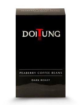 Beans Dark Roast Peaberry 100% Arabica Coffee 200G. - Doi Tung Thai Royal Project Product