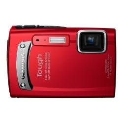 【Amazonの商品情報へ】OLYMPUS 防水デジタルカメラ TOUGH TG-310 レッド 3m防水 1.5m耐落下衝撃 -10℃耐低温 1400万画素 3.6倍光学ズーム 2.7型液晶 TG-310 RED