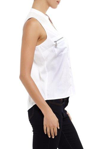 2B Annika Zipper Tail Shirt