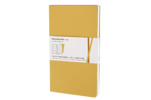 Moleskine Ruled Volant Notebook Large Golden