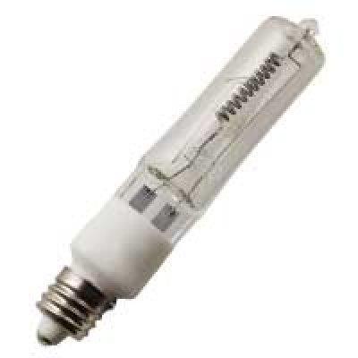 Halco 127040 - 500 Watt Halogen Light Bulb - T4 - Mini Candelabra Base - Clear - 2,000 Life Hours - 10,000 Lumens - 120 Volt