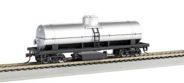 Imagen de Los trenes Bachmann Seguimiento Tank Cleaning Car-analfabeto-Silver-Ho Escala