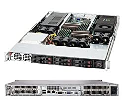 SUPERMICRO 1400-Watt 1U Rackmount Server Chassis, Black CSE-118G-1400B