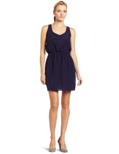 Eight Sixty Women's Solid Snap Front Dress