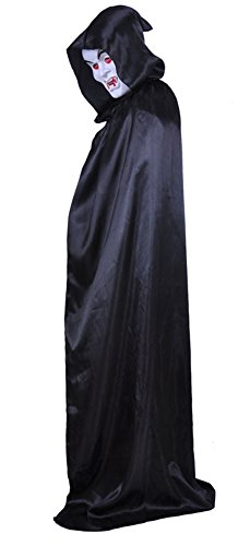 Gifted Tailor Halloween Props Adults Cape Costume Hooded Cape Deluxe Cloak