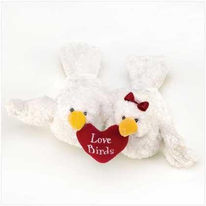 Stuffed Animal Toy Plush Love Birds Valentines Day Gift