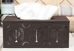 Willow Pattern Long Tissue Box Holder