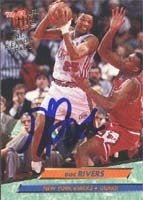 Doc Rivers New York Knicks 1993 Fleer Ultra Autographed Hand Signed Trading Card. by Hall of Fame Memorabilia