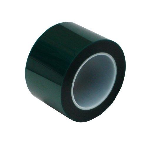 "3"" X 72 Yds - 2 Mil Green Powder Coating Masking Tape - High Temperature"