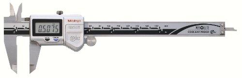 Mitutoyo 500-752-10 Digital Calipers, Battery