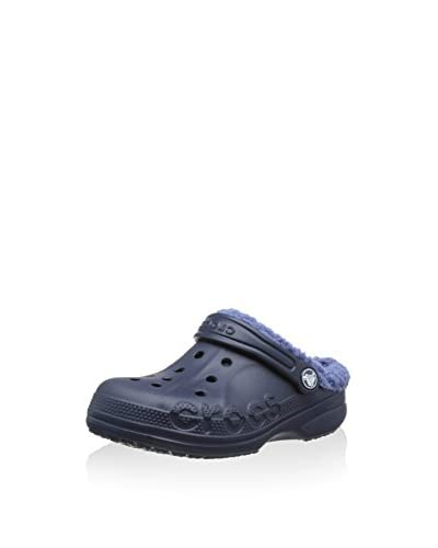 crocs Clog Baya Lined Kids Blau (Navy/Bijou Blue)