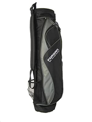 Forgan Grey & Black Ultra Light Golf Carry Bag