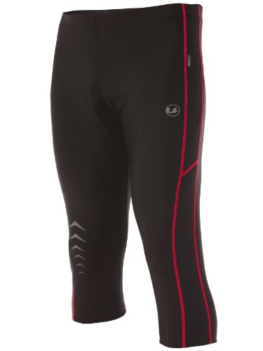 Ultrasport Men's Running Pants Capri with Quick-Dry-Function