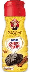 Nestle Coffee-Mate Abuelita Mexican Chocolate Style Liquid Coffee Creamer 16 Oz Bottle (4 Pack)