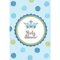 Little Prince Folded Baby Shower Invitation Cards-