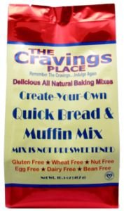 The Cravings Place Create-Your-Own Quick Bread & Muffin Mix, 13-Ounce Bags (Pack of 6)