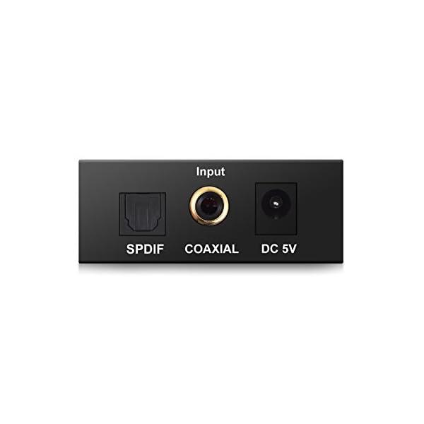 ESYNiC-DAC-Convertisseur-Audio-Numrique-vers-Analogique-Toslink-Coaxial-Optique-vers-RCA-L-R-Compatible-SPDIF-Cble-Optique-pour-Transformer-Audio-HDMI-depuis-PS3-PS4-Xbox-Android-Box-AppleTV-Blu-ray--