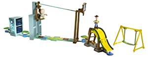 Toy Story 3 Action Links Sunnyside Breakout Stunt Set