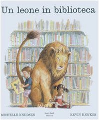 Un leone in biblioteca Book Cover