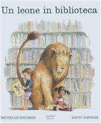 Un leone in biblioteca Book Cover