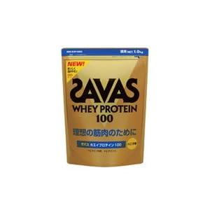 【明治】ザバス ホエイプロテイン100 バニラ風味 #CZ7357 1.0kg
