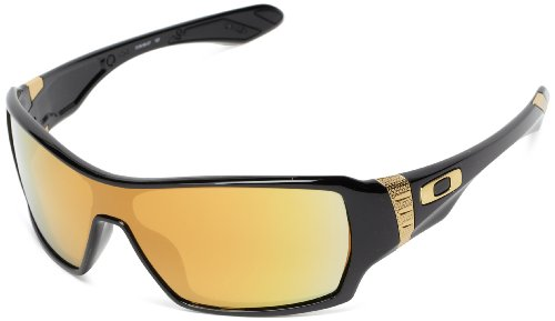 Oakley Offshoot Oo9190-07 Iridium Sport Sunglasses,Polished Black,55 Mm