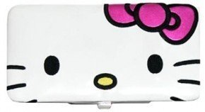 Loungefly Hello Kitty Face Opera Metal Frame Wallet