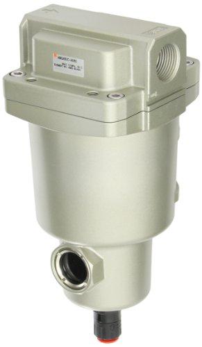 "Smc Amg450C-N06D Water Separator, N.O. Auto Drain, 2,200 L/Min, 3/4"" Npt"