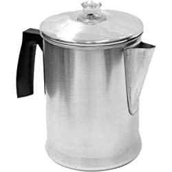 Epoca Aluminum Percolator 9 cup 3609-CPA made by Epoca