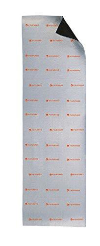 Ferrino Nap Materassino Arrotolabile, Nero Alluminio, 180 x 55 x 1 cm