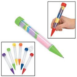 Fun Express Super Sand Art Pen Toy (12 Pack)