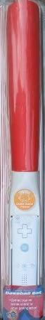 Soft Foam Baseball Bat for Wii - Red