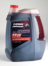 BRP Johnson Evinrude XD 30 2-Cycle Oil, Gallon
